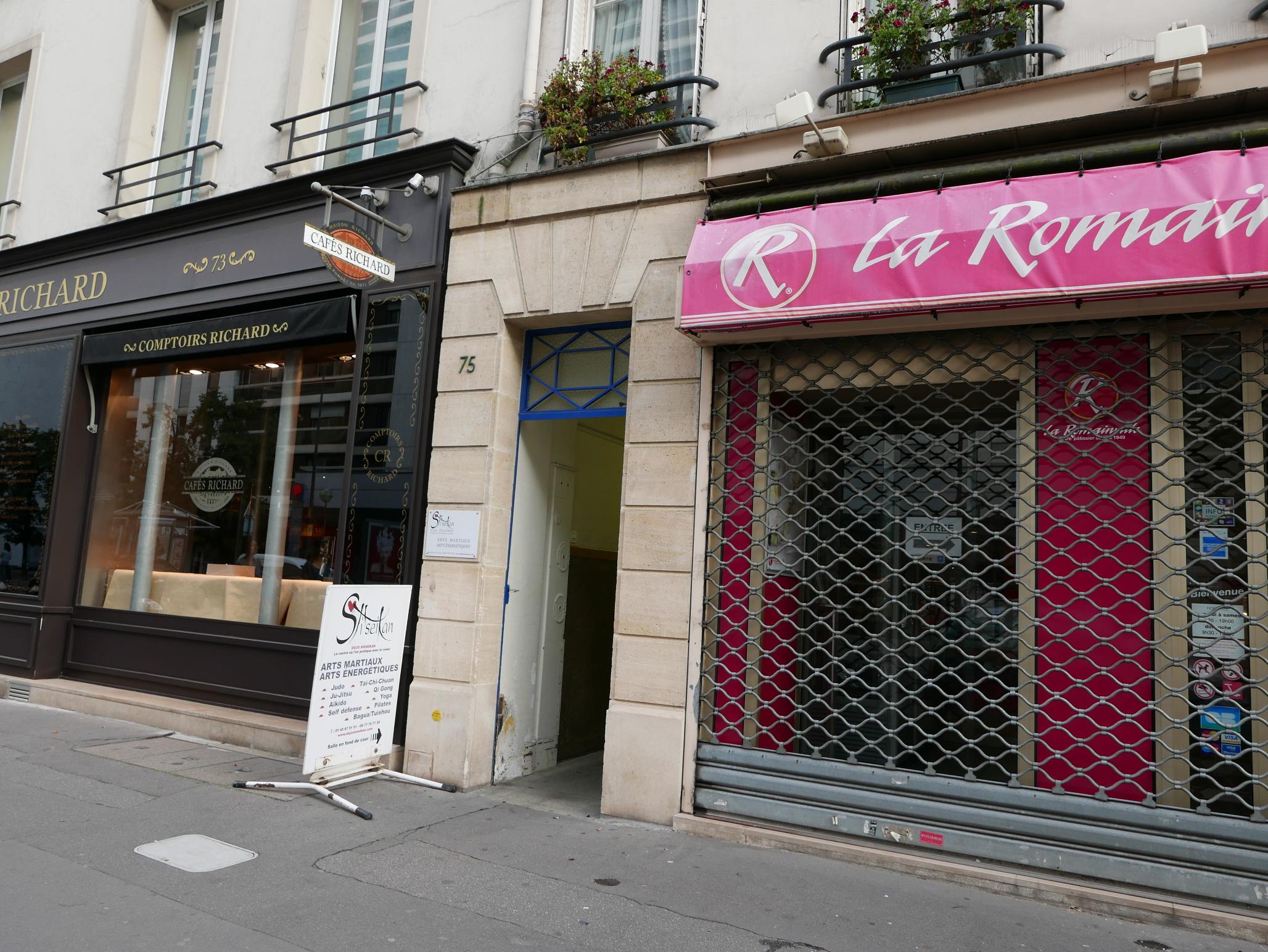 Dojo Paris extérieur